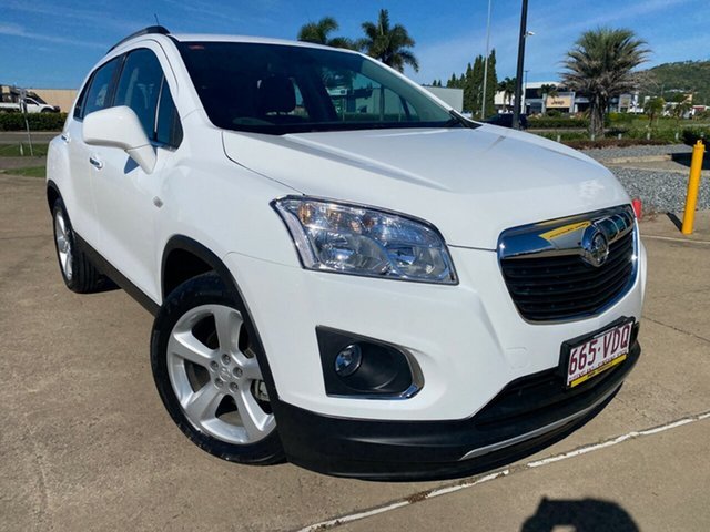 Used Holden Trax TJ MY15 LTZ Townsville, 2014 Holden Trax TJ MY15 LTZ White/211014 6 Speed Automatic Wagon