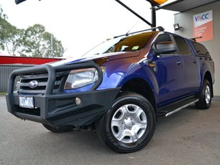 2013 Ford Ranger PX XL Hi-Rider Blue 6 Speed Sports Automatic Utility