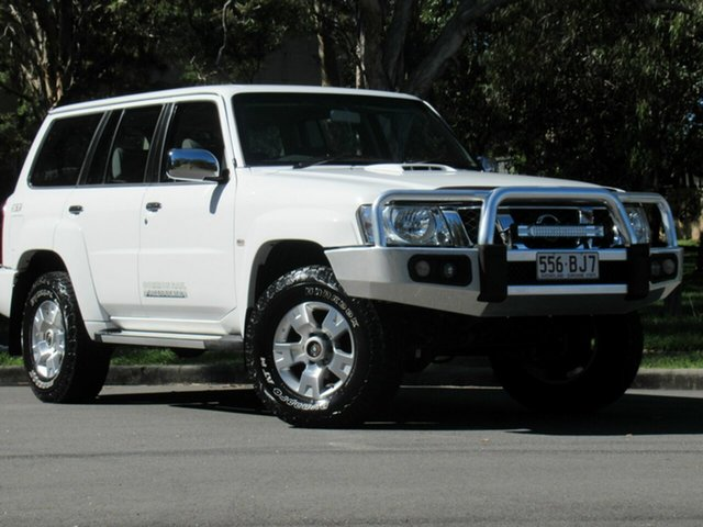 Used Nissan Patrol Y61 GU 10 ST, 2015 Nissan Patrol Y61 GU 10 ST White 5 Speed Manual Wagon