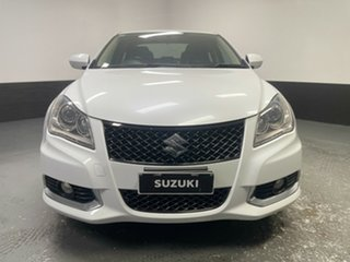 2015 Suzuki Kizashi FR MY14 Sport Touring White 6 Speed Constant Variable Sedan.