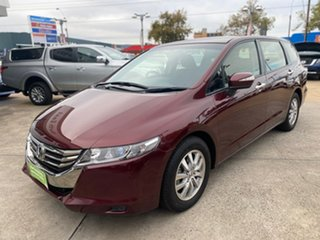 2013 Honda Odyssey 4th Gen MY13 Red 5 Speed Sports Automatic Wagon.