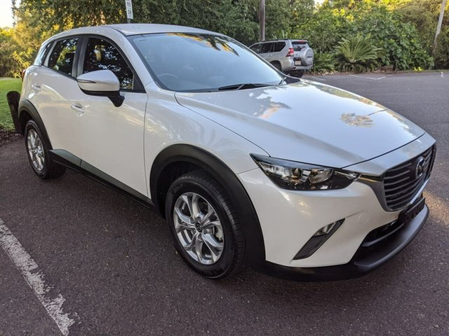 Used Mazda CX-3 DK2W7A Maxx SKYACTIV-Drive Stuart Park, 2018 Mazda CX-3 DK2W7A Maxx SKYACTIV-Drive White 6 Speed Sports Automatic Wagon