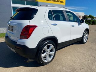 2014 Holden Trax TJ MY15 LTZ White/211014 6 Speed Automatic Wagon.