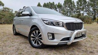 2015 Kia Carnival YP MY15 SLi Clear Silver 6 Speed Sports Automatic Wagon.