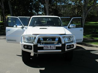 2015 Nissan Patrol Y61 GU 10 ST White 5 Speed Manual Wagon