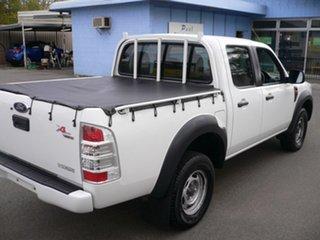 2011 Ford Ranger PK XL Crew Cab 4x2 White 5 Speed Automatic Utility.