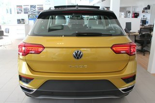 2020 Volkswagen T-ROC A1 MY21 110TSI Style Yellow 8 Speed Sports Automatic Wagon