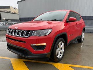 2017 Jeep Compass M6 MY18 Sport FWD Red 6 Speed Automatic Wagon.