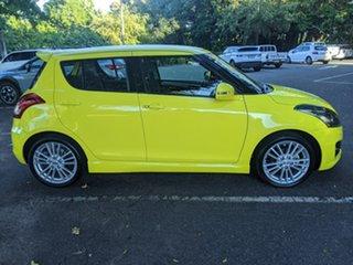 2012 Suzuki Swift FZ Sport Yellow 7 Speed Constant Variable Hatchback.
