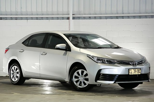 Used Toyota Corolla ZRE172R Ascent S-CVT West Gosford, 2016 Toyota Corolla ZRE172R Ascent S-CVT Silver 7 Speed Constant Variable Sedan
