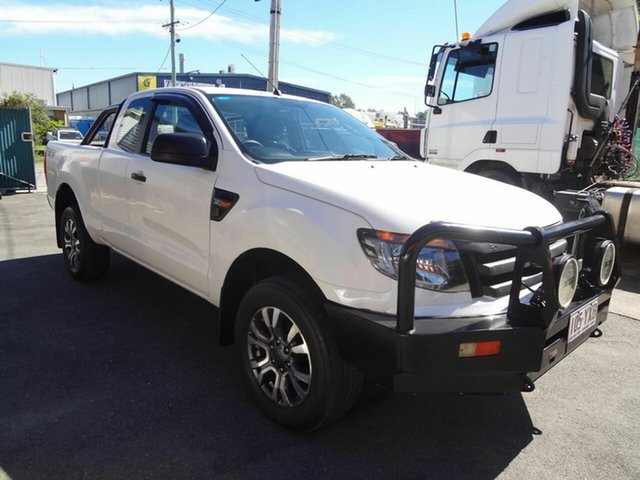 Used Ford Ranger PX XL 3.2 (4x4) Coopers Plains, 2012 Ford Ranger PX XL 3.2 (4x4) White 6 Speed Manual Super Cab Utility