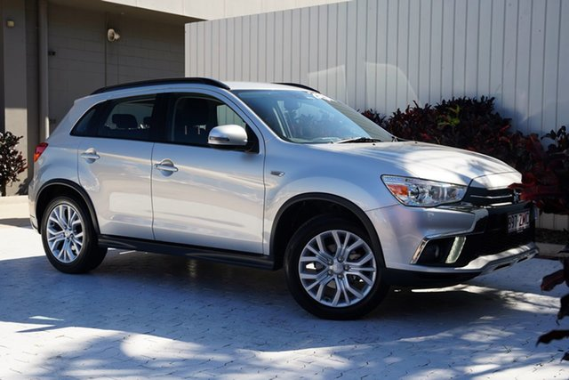 Used Mitsubishi ASX XC MY19 ES 2WD ADAS Cairns, 2019 Mitsubishi ASX XC MY19 ES 2WD ADAS Sterling Silver 1 Speed Constant Variable Wagon
