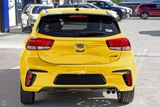 2021 Kia Rio YB MY21 GT-Line DCT Yellow 7 Speed Sports Automatic Dual Clutch Hatchback.