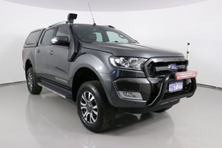 2017 Ford Ranger PX MkII MY17 Update Wildtrak 3.2 (4x4) Graphite 6 Speed Automatic Dual Cab Pick-up.