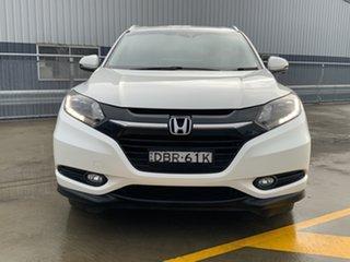 2015 Honda HR-V MY15 VTi-S White 1 Speed Constant Variable Hatchback.