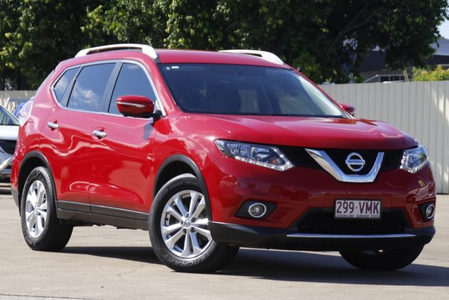 Used Nissan X-Trail T32 ST-L X-tronic 2WD Bundamba, 2014 Nissan X-Trail T32 ST-L X-tronic 2WD Burning Red 7 Speed Constant Variable Wagon