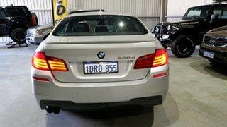 2011 BMW 5 Series F10 520d Steptronic Silver 8 Speed Sports Automatic Sedan