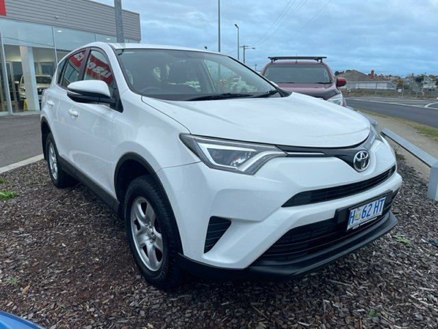 Used Toyota RAV4 ASA44R GX AWD Devonport, 2016 Toyota RAV4 ASA44R GX AWD White 6 Speed Sports Automatic Wagon