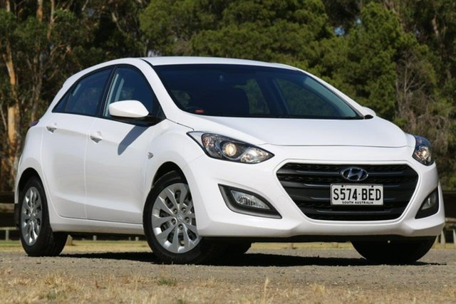 Used Hyundai i30 GD3 Series II MY16 Active Clare, 2015 Hyundai i30 GD3 Series II MY16 Active White 6 Speed Sports Automatic Hatchback