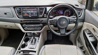 2015 Kia Carnival YP MY15 SLi Clear Silver 6 Speed Sports Automatic Wagon