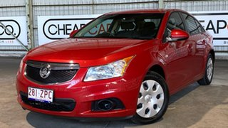 2011 Holden Cruze JG CD Red 6 Speed Sports Automatic Sedan.