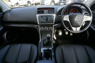 2010 Mazda 6 GH1022 MY10 Sports White 6 Speed Manual Hatchback
