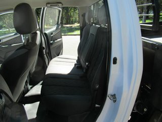 2014 Holden Colorado RG MY14 LX Crew Cab White 6 Speed Sports Automatic Cab Chassis