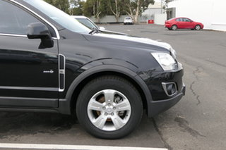 2012 Holden Captiva CG Series II 5 AWD Carbon Flash Black 6 Speed Sports Automatic Wagon