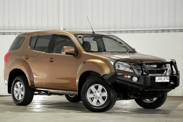 Used Isuzu MU-X MY15 LS-M Rev-Tronic 4x2 West Gosford, 2015 Isuzu MU-X MY15 LS-M Rev-Tronic 4x2 Bronze 5 Speed Sports Automatic Wagon