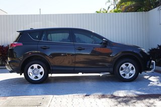 2016 Toyota RAV4 ZSA42R GX 2WD Black 7 Speed Constant Variable Wagon.