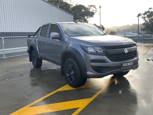 Used Holden Colorado RG MY18 LS Pickup Crew Cab Cardiff, 2018 Holden Colorado RG MY18 LS Pickup Crew Cab Grey 6 Speed Manual Utility