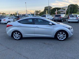 2012 Hyundai Elantra MD Premium Silver 6 Speed Sports Automatic Sedan.