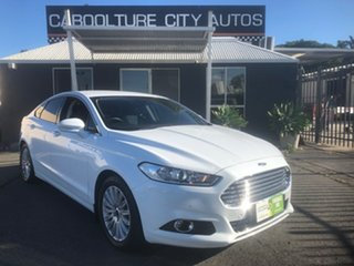 2016 Ford Mondeo MD Trend TDCi White 6 Speed Automatic Hatchback.