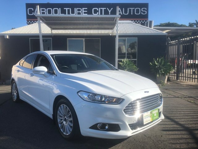 Used Ford Mondeo MD Trend TDCi Morayfield, 2016 Ford Mondeo MD Trend TDCi White 6 Speed Automatic Hatchback