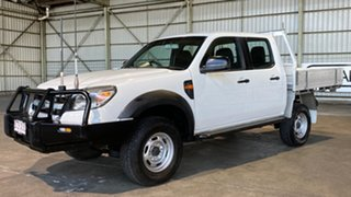 2011 Ford Ranger PK XL Crew Cab White 5 Speed Automatic Utility.