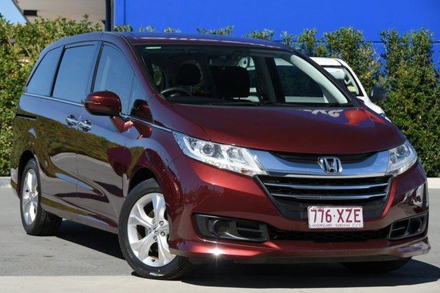 Used Honda Odyssey RC MY14 VTi Aspley, 2014 Honda Odyssey RC MY14 VTi Maroon 7 Speed Constant Variable Wagon