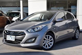 2014 Hyundai i30 GD3 Series II MY16 Active Silver 6 Speed Manual Hatchback.