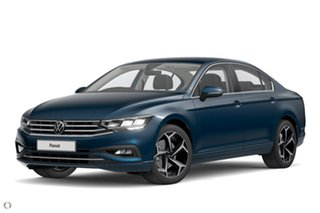 2021 Volkswagen Passat 3C (B8) MY21 140TSI DSG Business Blue 7 Speed Sports Automatic Dual Clutch.