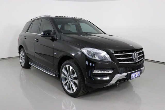 Used Mercedes-Benz ML350 CDI BlueTEC 166 4x4 Bentley, 2012 Mercedes-Benz ML350 CDI BlueTEC 166 4x4 Black 7 Speed Automatic Wagon