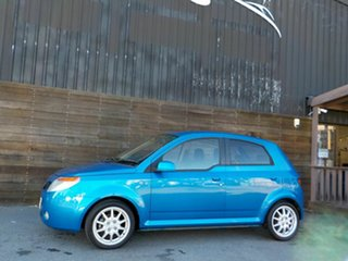 2007 Proton Savvy BT S2 Blue 5 Speed Seq Manual Auto-Clutch Hatchback.