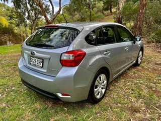 2012 Subaru Impreza G4 MY12 2.0i Lineartronic AWD Silver 6 Speed Constant Variable Hatchback.