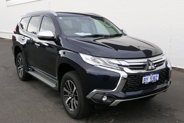 Used Mitsubishi Pajero Sport QE MY19 GLS Bunbury, 2019 Mitsubishi Pajero Sport QE MY19 GLS Dark Blue 8 Speed Sports Automatic Wagon