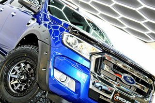 2016 Ford Ranger PX MkII MY17 XLT 3.2 Hi-Rider (4x2) Blue 6 Speed Manual Crew Cab Pickup.