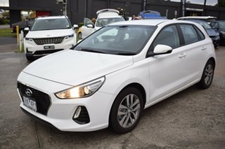 2020 Hyundai i30 PD2 MY20 Active White 6 Speed Sports Automatic Hatchback.
