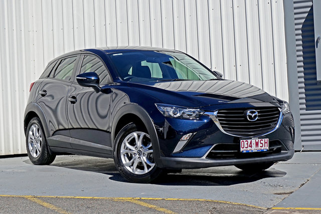 Used Mazda CX-3 DK2W76 Maxx SKYACTIV-MT Springwood, 2016 Mazda CX-3 DK2W76 Maxx SKYACTIV-MT Blue 6 Speed Manual Wagon