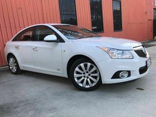 2014 Holden Cruze JH Series II MY14 Z Series White 6 Speed Sports Automatic Sedan.