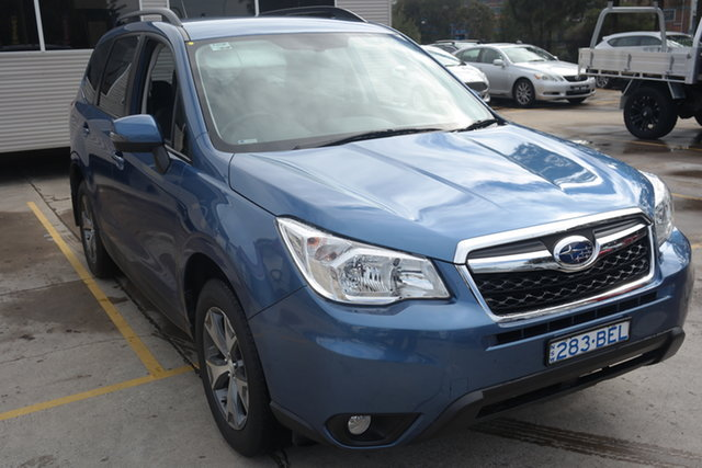 Used Subaru Forester S4 MY14 2.5i Lineartronic AWD Luxury Maryville, 2014 Subaru Forester S4 MY14 2.5i Lineartronic AWD Luxury Blue 6 Speed Constant Variable Wagon