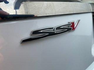 2013 Holden Commodore VF MY14 SS V Sportwagon Redline White 6 Speed Sports Automatic Wagon