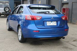 2011 Mitsubishi Lancer CJ MY11 SX Sportback Blue 6 Speed CVT Auto Sequential Hatchback