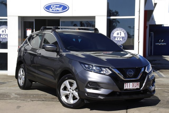 Used Nissan Qashqai J11 Series 2 ST X-tronic Beaudesert, 2017 Nissan Qashqai J11 Series 2 ST X-tronic Grey 1 Speed Constant Variable Wagon